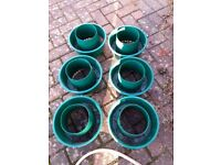 6 Tomato Rings for use with Gro bags