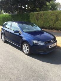 Vw Polo 2010 1.4 SE 5 Door Manual Blue