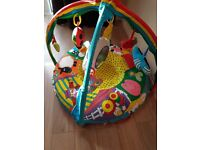 GALT Baby Nest & Gym with additional Lamaze toy plus other toys
