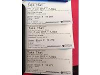 Take That tickets x 3 Birmingham 2 June