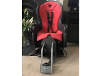HAMAX CHILD BIKE SEAT AND BRACKET EXCELLENT CONDITION