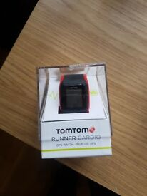 Tomtom runner Cardio GPS watch red