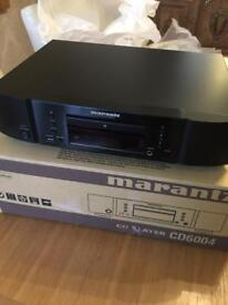 Marantz CD6004 CD Player - Boxed Good Condition