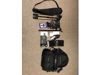 Large Format 4x5 Camera with accessories