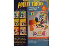 MARVINS MAGIC POCKET TRICKS (Brand New & Boxed)
