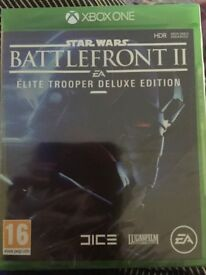 Xbox One Star Wars Battlefront II Elite Trooper Deluxe Edition (BNIP)