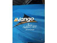 Vango Inca Signature 500 Tent inc canopy