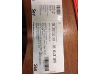 2 Platinum seat tickets for the Musical box - The black show tour. Usher Hall Edinburgh