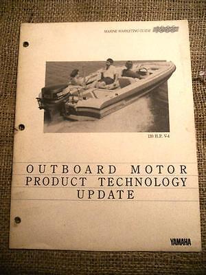 Yamaha Outboard Motor Product Technology Update Manual1987