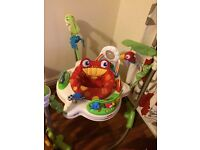 Baby fishergate jumperoo good condition