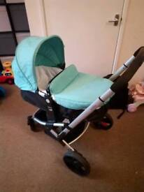 Mothercare xpedior MINT Travel system