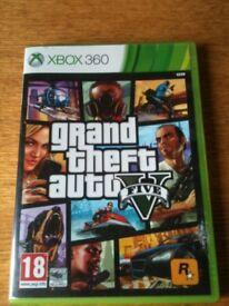 XBOX 360 Game GTA Grand Theft Auto 5