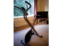 V-fit folding exercise bike barely use bought for £60