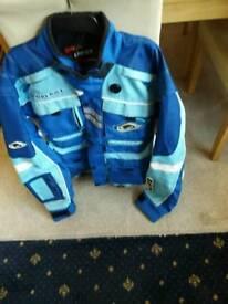 Mx enduro jacket size large as new