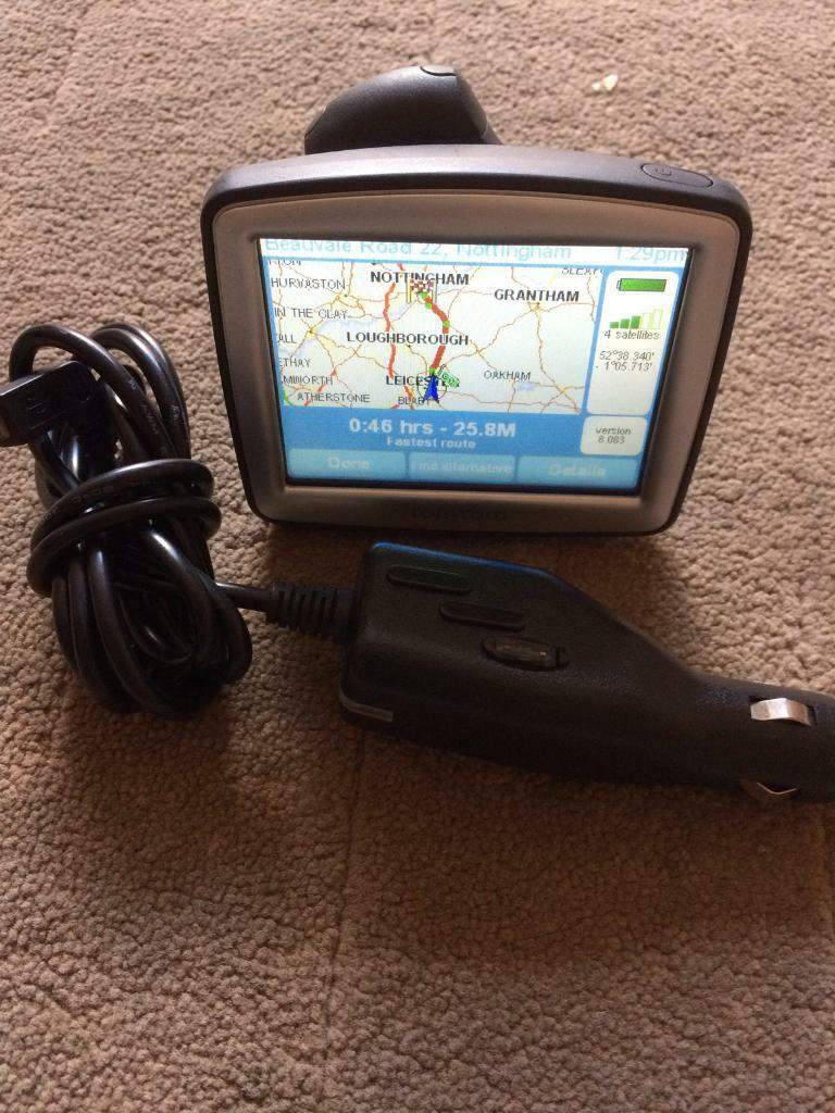 Tomtom one satnavin Leicester, LeicestershireGumtree - Tomtom one satnav in excellent condition comes with car charger also shows cameras