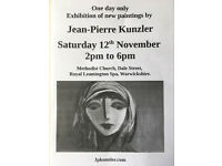Art Exhibition - Royal Leamington Spa - 12th November 2pm to 6pm