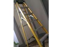 Werner step ladders for electricians etc