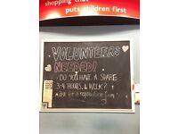 Charity Shop Volunteer (Unpaid) - Byres Road