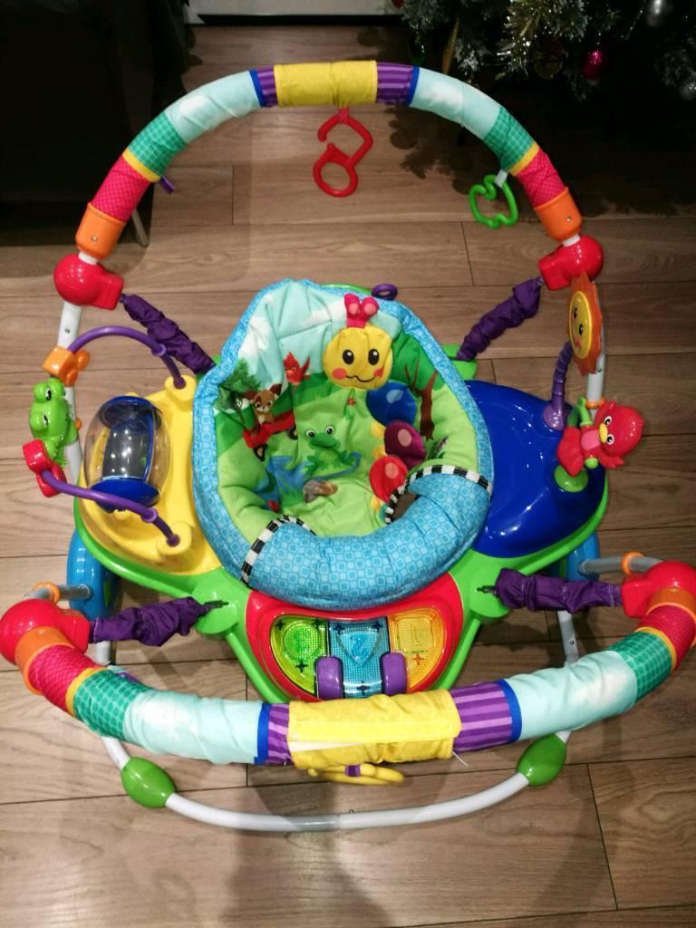 3841fb7ca Baby Einstein Neighbourhood Friends Activity Jumper