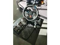 Logitech G29 Steering Wheel pedals and gear shifter. (PS4 /PC)