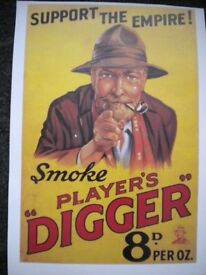 A PLAYERS DIGGER SHAG POSTER 18X12 INCH