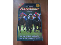 Host your own Race Night DVD game. (Christmas present perhaps)