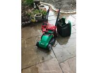 Qualcast electric lawnmower only 12months old barely used