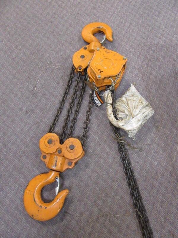 Magna Manual 10 Ton Chain Hoist ~ 60 ft. Lift~! 60
