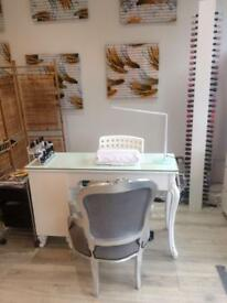 Nail technician space available