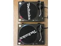 Technics 1210 mk2 pair - perfect condition
