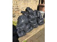 approx 50 bags of good topsoil FREE ! collection only
