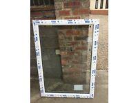 UPVC fixed pane window