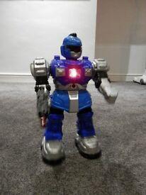 Large Robot - lights up, talks and walks