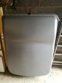 Large grey car top box in good condition