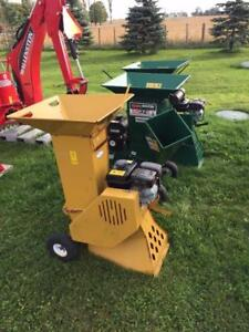 "**only 3 units left** Blow out sale on used Wallenstein 3"" Chipper/Shredder"