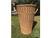 Large Wicker Washing Basket