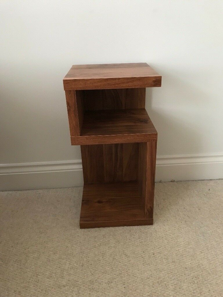 Next Dark Wood Side Table