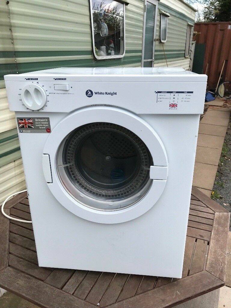 White Knight CL300 tumble dryer 2 yr old. Limited use surplus due to ...