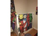 Avengers Toddler duvet set, duvet and pillows