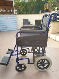 Wheelchair by Invacare Alu lite