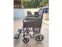Wheelchair by Invacare Alu lite