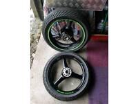 Zx6r wheels
