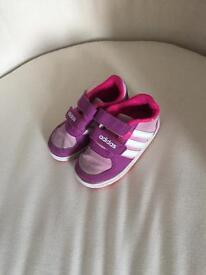 Toddlers Adidas trainers size 5