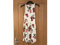 Topshop Floral Patterned Dress (Size 10)