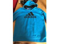 Adidas hoodie age 13-14. Only worn couple times