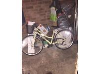 Reflex Vintage City Comfort Hybrid associate Ladies Bike