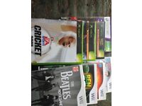 Xbox and WII games