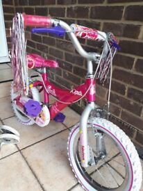 Pre school girls bicycle