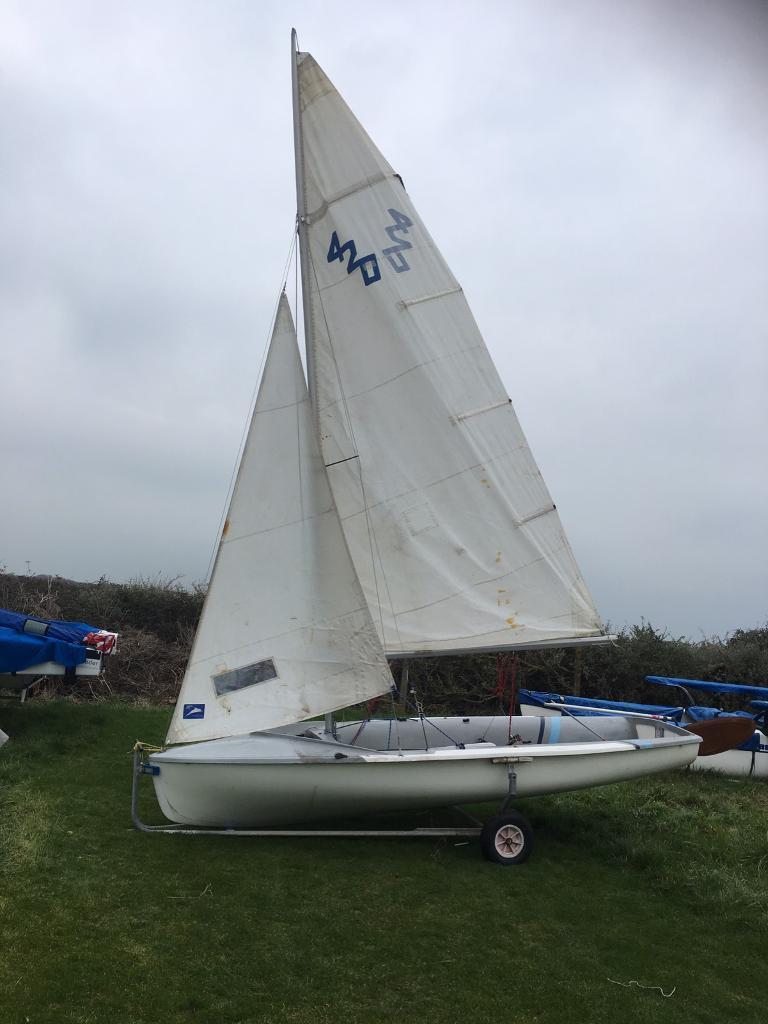 420 sailing dinghy in havant hampshire gumtree