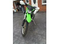 Klx 250cc registered as 125cc